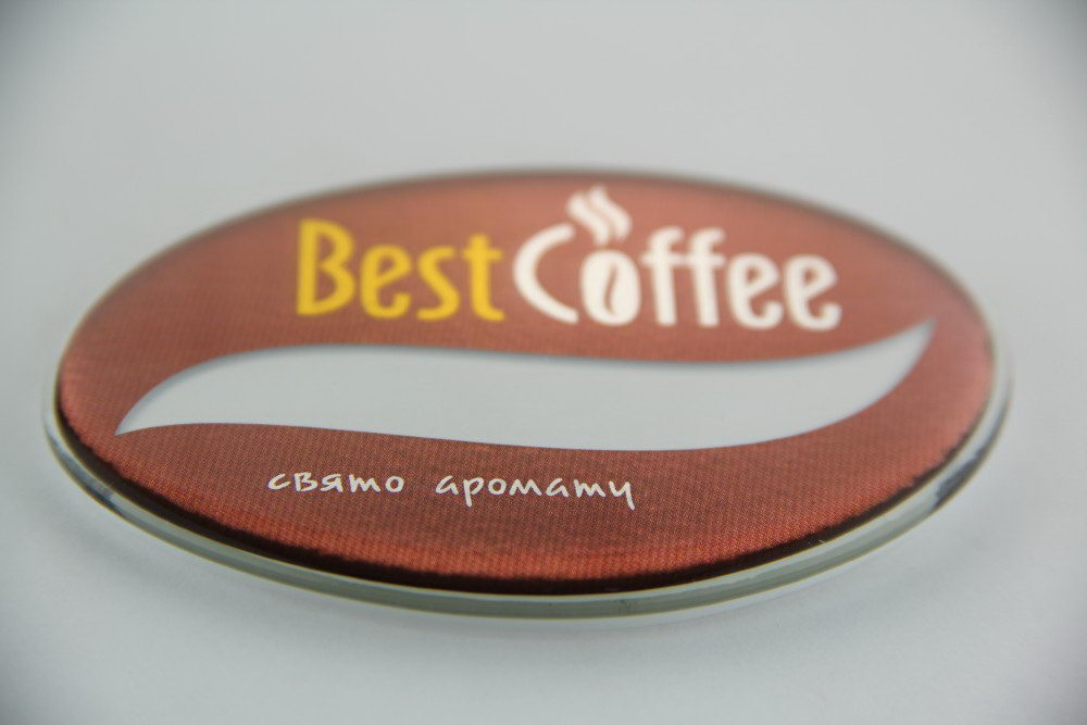 "Бейджи для кафе ""Best Coffee"""