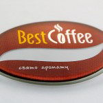 """Бейдж """"Best Coffee"""""""