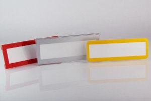 пластиковые бейджи с окном