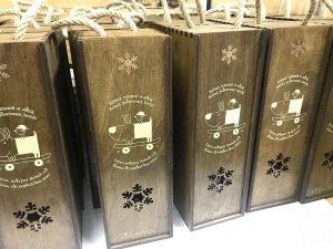 поздравительные коробки под алкоголь