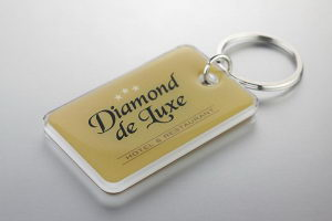 Брелки для гостиничных номеров Diamond De Luxe
