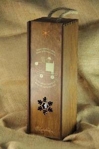 Поздравительные коробки под алкоголь с логотипом