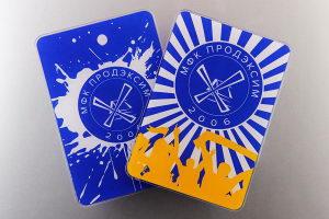 Промо магниты с логотипом