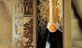 коробка для вина с логотипом