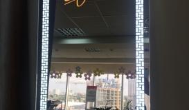 брендированные зеркала с подсветкой